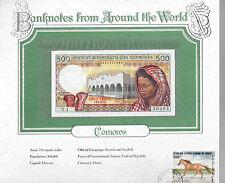 World Banknotes Comoros Islands 500 Francs 1986 GEM UNC P10a.1 Serie Y.1