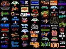 Cartel De Juegos A4 Retro – Colección De Juegos Nes (Xbox 360 PS3 Nintendo Sega)