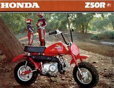 """Vintage Honda  Z50 fuel tank wings 4 1/16"""" x 2 1/2""""103mm x 63mm Mini Z 50 Monkey"""