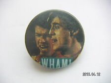 WHAM POP MUSIC PICTURE BADGE 34