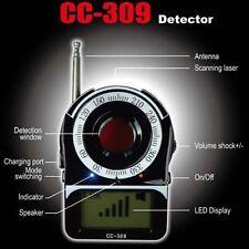 SPY BUG DETECTOR AND LASER CAMERA LENS FINDER GPS GSM WIFI G3 G4 SMS RF CC309