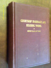 COURTSHIP MARRIAGE AND REARING YOUNG 1916 H C Johnson