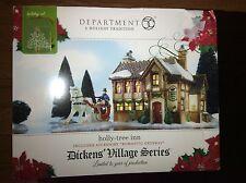 Department Dept. 56 Dickens' Village Holly Tree Inn Romantic Getaway Limited