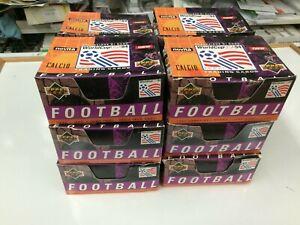 1994 Upper Deck USA World Cup Soccer Trading Card Box (50 pks)-Italia