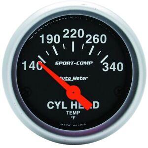 AutoMeter 3336 Sport-Comp Electric Cylinder Head Temperature Gauge