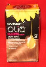 GARNIER OLIA OIL POWERED PERMANENT COLOR 7.0 ~  DARK BLONDE ~ 1 kit)