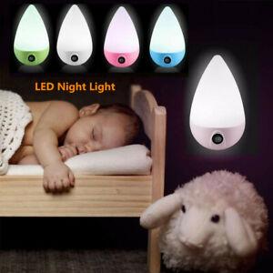 Automatic LED Night Light Plug in Energy Saving Dusk 2 Dawn Sensor UK Plug in
