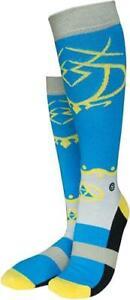 Musterbrand Zelda Knee Unisex Princess Walk Socks Blue