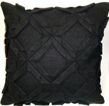 LINEN HOUSE Harlequin Wool CHARCOAL Cushion Cover 43x43cm Mothers Day