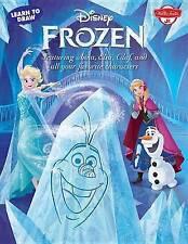 IMPARA a disegnare Disney's Frozen: dotato di Anna, Elsa, Olaf, e tutti i tuoi FAVORIT