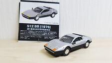 1/72 Hot Wheels FERRARI 1976 512BB SILVER diecast car model