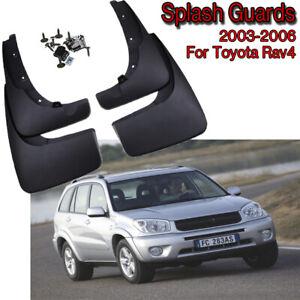 New Set Splash Guards Mud Flaps Guards 08414-42820 For 2000-2005 Toyota RAV4