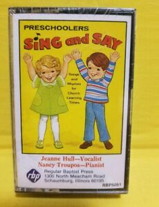 Sing and Say for Pre Schoolers Sunday School Day Care - Christian Cassette Tape