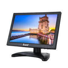 "10 "" IPS LCD 1280 * 800 VGA HDMI AV Video Monitor USB para CCTV DVD PC Banking"