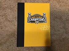 PITTSBURGH PENGUINS Back to Back Champions COFFEE TABLE BOOK (Charity Bag) NEW