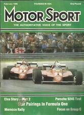 MOTOR SPORT FEB 1986 PORSCHE 924 S MOROCCO RALLY EXETER TRIAL TOYOTA CELICA