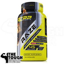 REPP Sports - RAZE 45caps - Extreme Fat Burner Immediate Metabolism Accelerant