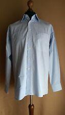 Moniva Group Herren Eterna Excellent Hemden Gr 39 Blau Normal Fit Langarm