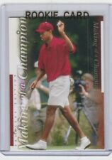 TIGER WOODS RC Upper Deck GOLF ROOKIE CARD Premier Edition PGA MINT LE!