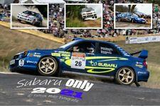 "Subaru ""only"" Rallye Kalender Impreza  Kalender 2021  555 >Belgium Germany ERF"