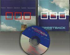 SWEETBACK w/ AMEL LARRIEUX You Will Rise 5TRX REMIXES & EDIT PROMO CD single