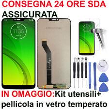 DISPLAY+ TOUCH SCREEN PER MOTOROLA MOTO G7 POWER XT1955 NERO LCD VETRO NUOVO