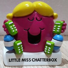 Mr Men & Little Miss Figurine by Pacemaker 2005 Collection - Chatterbox *BNIB*