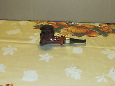 Avon Windjammer Aftershave Bearded Man Glass Pipe Cologne Bottle