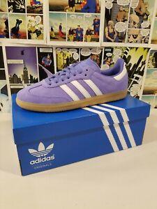 🟢 Adidas Samba OG Women's Shoes Lilac/Real Lilac/Crystal White B44697 SIZE 10