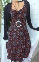 Joe Browns Jersey Stretch Dress Size 40 - 58 (034) Layered Look New