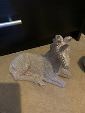 Next Silver SHINY GLITTER Ornaments X5