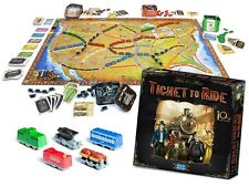 NEW TICKET TO RIDE 10th Anniversary Edition Days of Wonder - Alan Moon