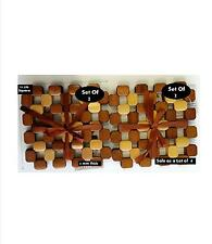 Bamboo Coasters/Table Place Mats/Surface Protectors-Lot of 4