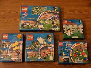 LEGO Football/Soccer Team Lot 3406 3402 3403 3416 3412 All New in Box Sealed Box