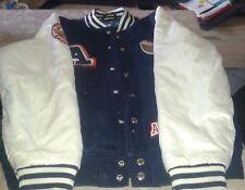Adidas Originals Mens Stadium Jacket Varsity Black White difficile da trovare