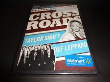 Taylor Swift NEW DVD Def Leppard  CMT Crossroads BRAND NEW FACTORY SEALED