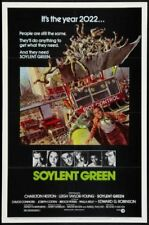 "Soylent Green Movie Poster 24""X36"""