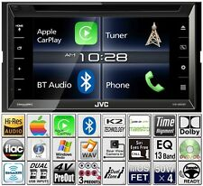 JVC Double Din DVD CD Player CarPlay Radio Bluetooth Pandora USB Aux
