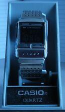 RELOJ CASIO A200 VINTAGE RETRO ILLUMINATOR ACERO INOX. ALARMA CRONO ETC.
