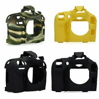 Soft Silicone Camera Body Skin Protect Case Cover Frame Skin for Nikon D800 D810