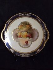 Pickard Hand Painted, Artist Signed Plate with Handles