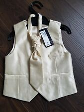 NEW Marks and Spencer M&S Autograph Boys Aged 2-3Years Waistcoat & Cravat BNWT