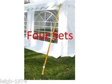Party Tent Marquee Gazebo 4 sides holding down anchor pegs and ratchets New