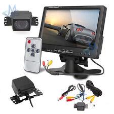 """Monitor e telecamera Retromarcia per auto Schermo 7"""" Retrocamera ir night vision"""