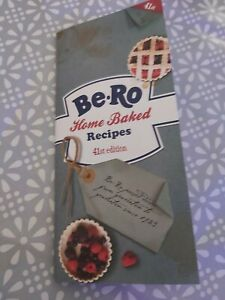 NEW! Be-Ro Home Baked Recipe Book - 41st Edition Free Postage