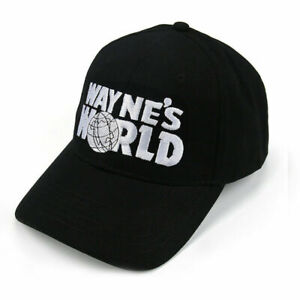 Wayne's World Schwarz Party Movie Film Snapback Baseball Cap Hat Mütze Kappe Hut