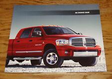 Original 2006 Dodge Ram Truck Deluxe Sales Brochure 06 ST SLT TRX4 Laramie SRT10