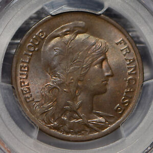 France 1920 10 Centimes PCGS MS64BN Gad-277 PC0738 combine shipping