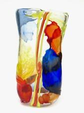 SIGNED Giant Murano Art Glass Multi Coloured Studio Vase by Tagliapietra 7.8kg