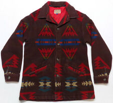 Vintage Pendleton Western Wear Wool Southwestern Jacket Coat Mens Size Large